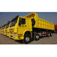 Wholesale Sinotruk 12 Wheels Howo 8x4 Tipper Truck 336 - 380hp Euro 2 Loading 40t Capacity 30m3 from china suppliers
