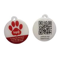 China Eco Friendly NFC RFID Epoxy Tag With QR Code Printing Customized Size for sale
