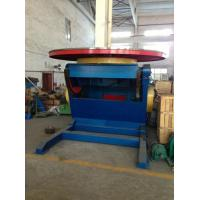 China Motorized Rotary Positioner Table , Pipe Welding Positioners 0.14 Rpm Tilting Speed on sale