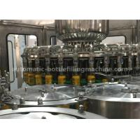 Wholesale Rotary Automatic Juice Bottle Filling Machine Washer Filler Capper Monobloc Machine from china suppliers