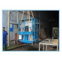 Quality Dual Mast Mobile Elevating Work Platform For 2 Persons 8 Meter Platform Height for sale
