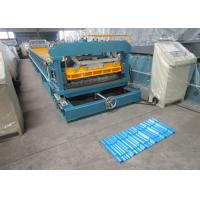 Yield Strength 235Mpa Feeding Coil Width 1250 mm Metal Tile Roll Forming Machine