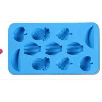 Wholesale fruits shape silicone chocolate mold ,fruits shape silicone muffin cake molds from china suppliers