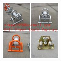 Wholesale Straight line bridge roller  Cable guides   Cable rollers from china suppliers