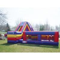 Wholesale Ultimate Survivor Inflatable Floating Obstacle Course With Cliff Slide For Team Building from china suppliers