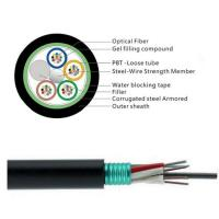 Wholesale GYTS 32 Cores Fiber Cable/Aerial fiber optic cable installation is a complicated and time-consuming work. from china suppliers