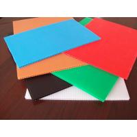 China Pp Corrugated Fluted Plastic Sheet / Board on sale