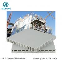 20mm hollow plastic formwork for construction system|reusable more than 60 times pp plastic template for construction for sale
