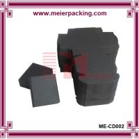 Wholesale Flat Packed Paper Box, Small Size Black Cosmetic Paper Box ME-CD002 from china suppliers