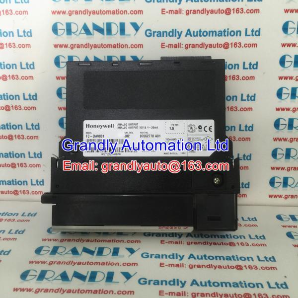 Quality Original New Honeywell TC-OAV081 Analog Output Module - grandlyauto@163.com for sale