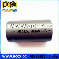 Wholesale ICR18350 900mAh 3.7V from china suppliers