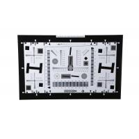 Wholesale iso 12233 2000 lines camera lens resolution test chart both on paper and glass (chrome print) 0.5x 200mm*356mm 16:9 from china suppliers