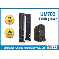 Buy cheap UNIQSCAN UM700 24 zones indoor and outdoor used, foldable and portable walk through metal detector from wholesalers