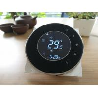 Wholesale Round touch screen thermostat/wired controller/ from china suppliers