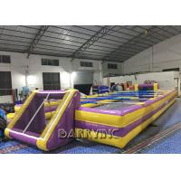 Wholesale Customized Outdoor Inflatable Sports Games Adults / Children Inflatable Soccer Field from china suppliers