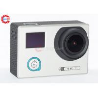 Buy cheap Underwater 30m Sports HD DV With Adjustable Angle , HDMI 4K 24 Fps Action Camera from Wholesalers