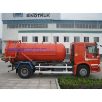 Wholesale 17CBM LHD 336HP Transporting Sewage Septic Tank Cleaning Truck / Septic Pumping Truck Sinotruk howo7 from china suppliers