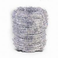 Wholesale High-resistant Barbed Wire with Hot-dipped Galvanized Finish and 100 to 120kg Tensile Strength from china suppliers