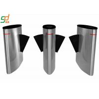 Wholesale Anti Pinch Entrance Flap Barrier Gate Waist High Turnstile CE FCC RoHS SGS from china suppliers