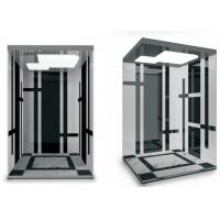 Wholesale 1.5m/s speed Mini Machine room elevator Configuration of light screen from china suppliers