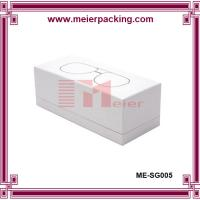 Wholesale White box, paper lid and bottom glasses box, paper box with customized logo ME-SG005 from china suppliers