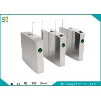 Wholesale Pedestrian Automatic Speed Gate Turnstile Direction Indication Sliding Barreir from china suppliers