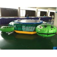 Wholesale ODM Inflatable Turtle With Slide Durable 0.9mm Pvc Tarpaulin Material from china suppliers