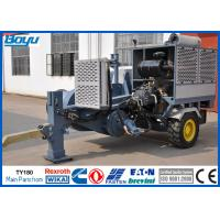 Wholesale High Voltage Power Line Stringing Equipment / Hydraulic Pulling machine 19 Ton Cummins Engine from china suppliers