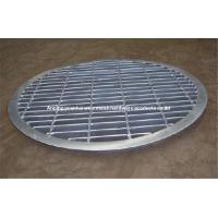 Wholesale High Security Stainless Steel Bar Grating , Non-Slip Steel Walkway Grating from china suppliers