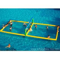 Wholesale Comercial Sport Games Large Water Inflatable Volleyball Field For Beach Event from china suppliers