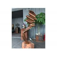 Wholesale Modern Metal Garden Sculptures Casting Antique Western Bronze Sculpture from china suppliers