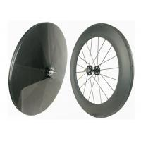 Wholesale Track Bike Carbon Fiber Wheels 700C Hot Wheels Tracks Disc Wheel Rear 23MM from china suppliers