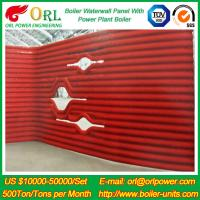 Gas Steam Industrial Power 300MW Station Boiler Water Walls for Condensing