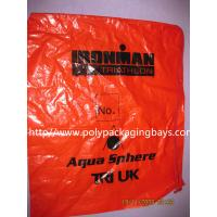 Wholesale Fashionable Plastic Drawstring Backpack Bags CPE LDPE Shoulder For Clothes from china suppliers