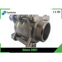 Wholesale Butt Weld End 1000PSI 3PC Ball Valve Stainless Steel 316 Material from china suppliers