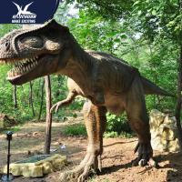 China Professional Realistic Dinosaur Models Hands Moving Theme Park Huge Decoration for sale