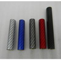 Wholesale factroy supply carbon fiber Electronic cigarette tube carbon fibre vape pen tube  100mm length from china suppliers
