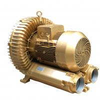 Wholesale Pneumatic Conveying Regenerative Air Blower , Goorui Vacuum Pump Golden Color from china suppliers
