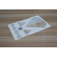 Wholesale Skin jewelry tattoo, Gold and Silver temporary tattoo from china suppliers