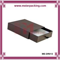 Wholesale Custom logo printed drawer type rigid paper small jewelry box ME-DR013 from china suppliers