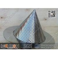 """Wholesale 2"""" Conical Perforated Metal Mesh Filters from china suppliers"""