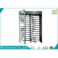Wholesale Prison Industrial Grade Full Height Turnstiles Access Control , Stainless Steel Housing from china suppliers