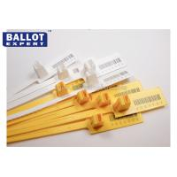Quality Numbered Plastic Security Seals For Containers Length 340mm OEM for sale