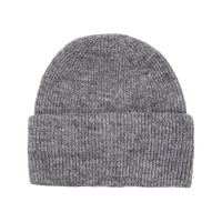 Wholesale Unisex Wool Acrylic Soft Knit Beanie Cap Customize Pattern from china suppliers