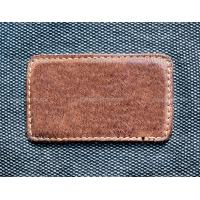 Wholesale custom embossed leather label from china suppliers