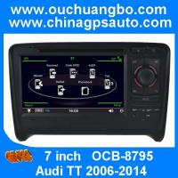 Wholesale Ouchuangbo radio gps multimediastereo for Audi TT 2006-2014 with USB SD swc OCB-8795 from china suppliers