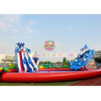 Quality Custom Animals Inflatable Water Park Equipment With Digital Printing for sale