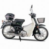 Wholesale Super Cub Motorcycle, 110cc in EEC Type Approval, with 1,295mm Wheel Base and 12V/4Ah Battery from china suppliers