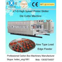 Wholesale Cardboard Box Making Corrugated Carton Machinery Flexo Printer With Lead Edge Feeder from china suppliers