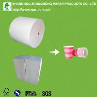 Wholesale PE coated paper cup raw material in roll/sheet from china suppliers